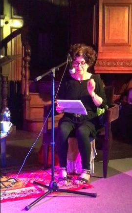 Alinah Azadeh. Performance still.