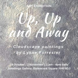 Art_Exhibition_Up,Up_and_Away_cloudscape_aintings_by_Lynne_Forrester