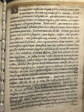 Snippendalius, Joannes. [Catalogus] Horti Amstelodamensis... Amstelodami, 1646. British Library. Photograph: Walter van Rijn.