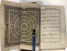 Cortusi, Giacomo Antonio, L'horto de i semplici di Padoua… Venezia, Girolamo Porro, 1591. Padua City Library copy