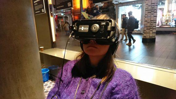 a-n bursary image VR headset