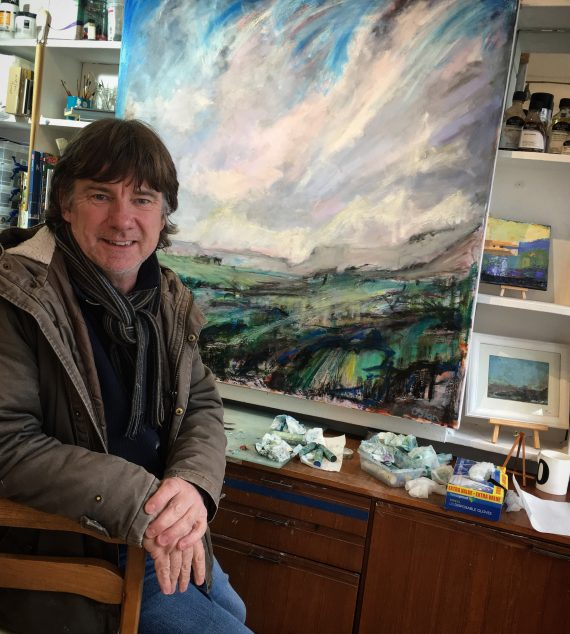 Contemporary Welsh Landscape Painter and artist