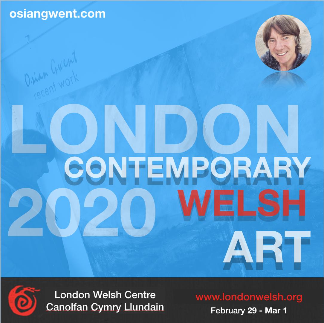 Osian Gwent 2020 Contemporary Welsh Art Exhibition London