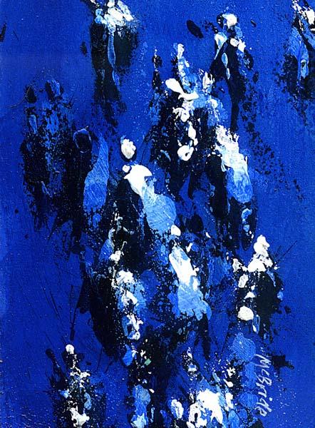 Racing, an original painting by Neil McBride