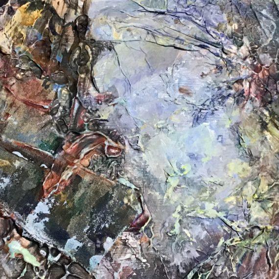 Jessie Davies: Climate Change: Wetlands (detail)