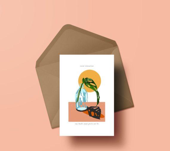 Sumuyya Khader, Greeting Card