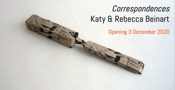 Correspondences, Katy & Rebecca Beinart, opening 3rd December 2020