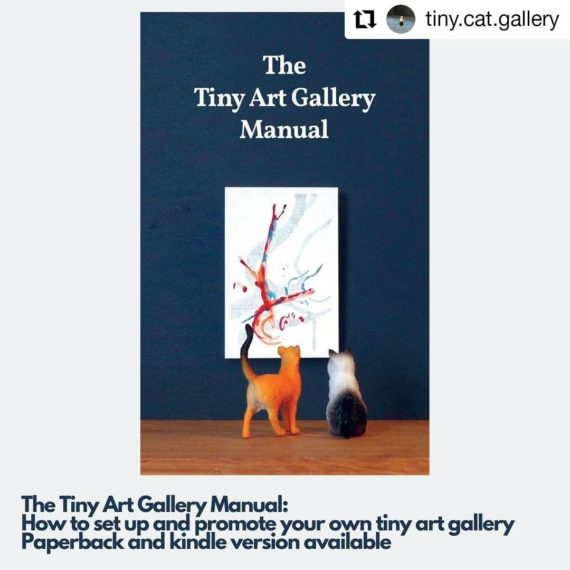 Tiny Cat Gallery Book