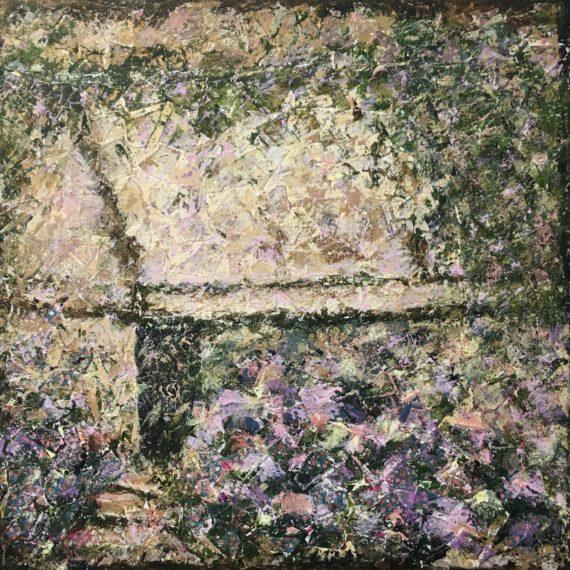 Lynne Forrester, Artist: True Spirit (mixed media painting on canvas)