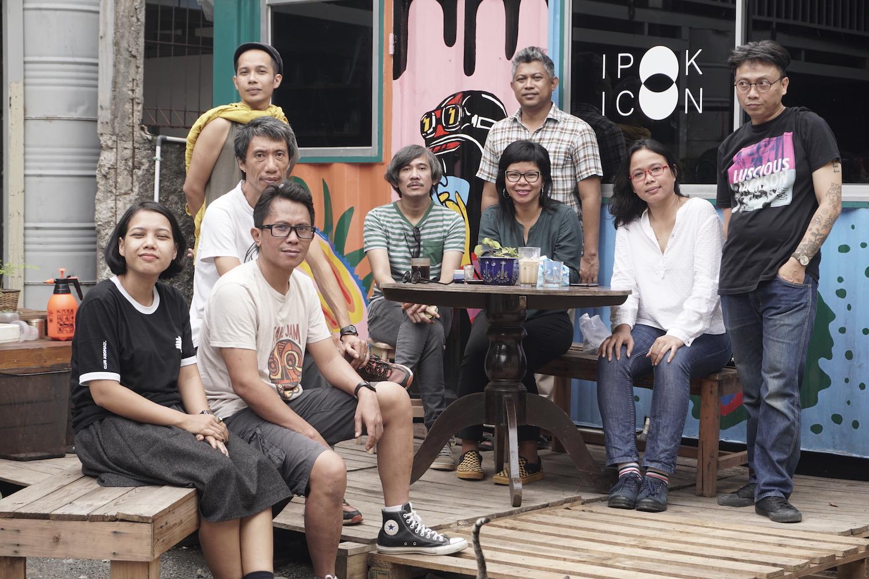 ruangrupa members in 2019. Credit: Gudskul/Jin Panji